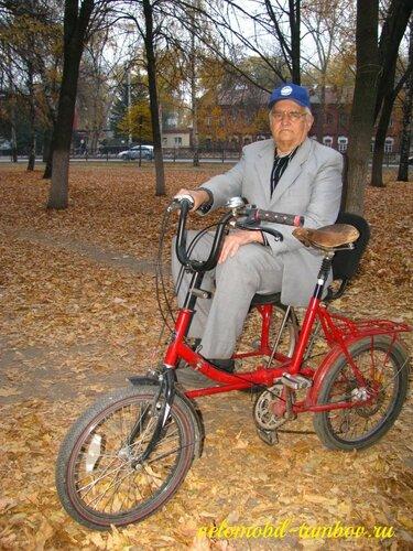 Велосипед с двойным приводом