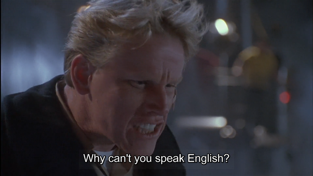 WHY CAN'T YOU SPEAK ENGLISH?