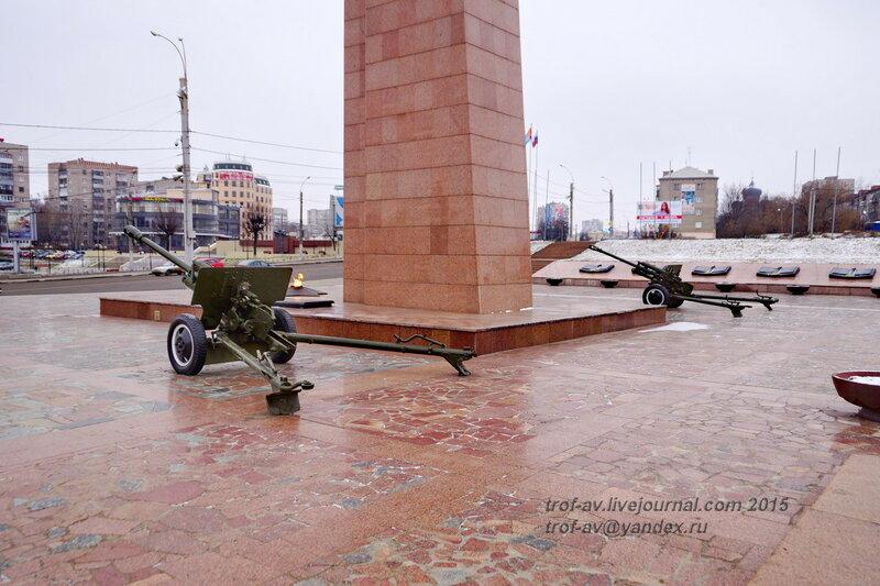 ЗиС-3, Мемориал героям фронта и тыла, Иваново