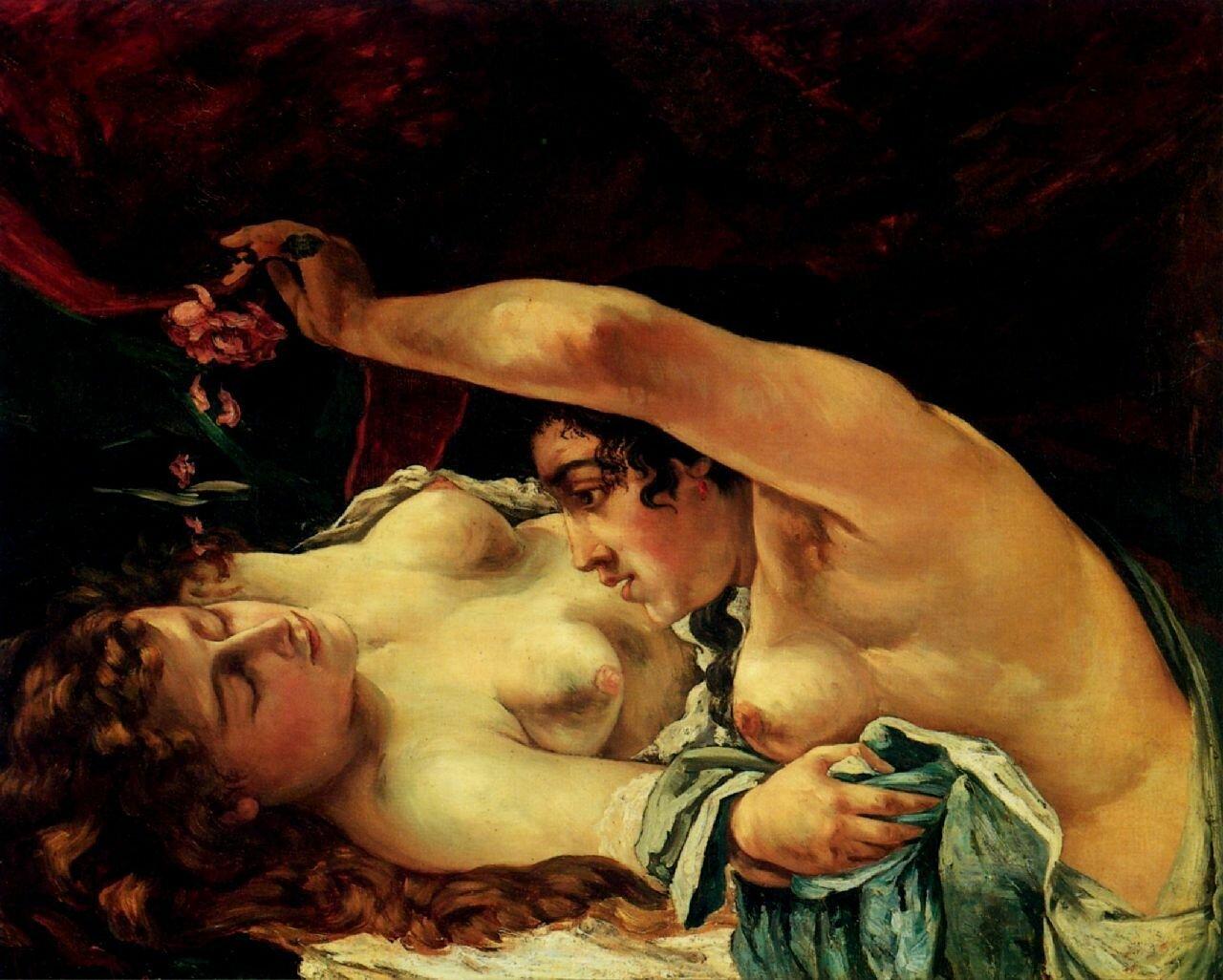 Эротическая живопись 18 19 в смотреть 12 фотография