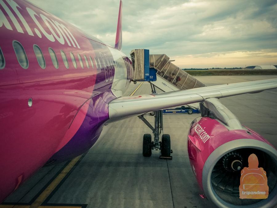 В Будапешт из Москвы летает лоукостер WizzAir