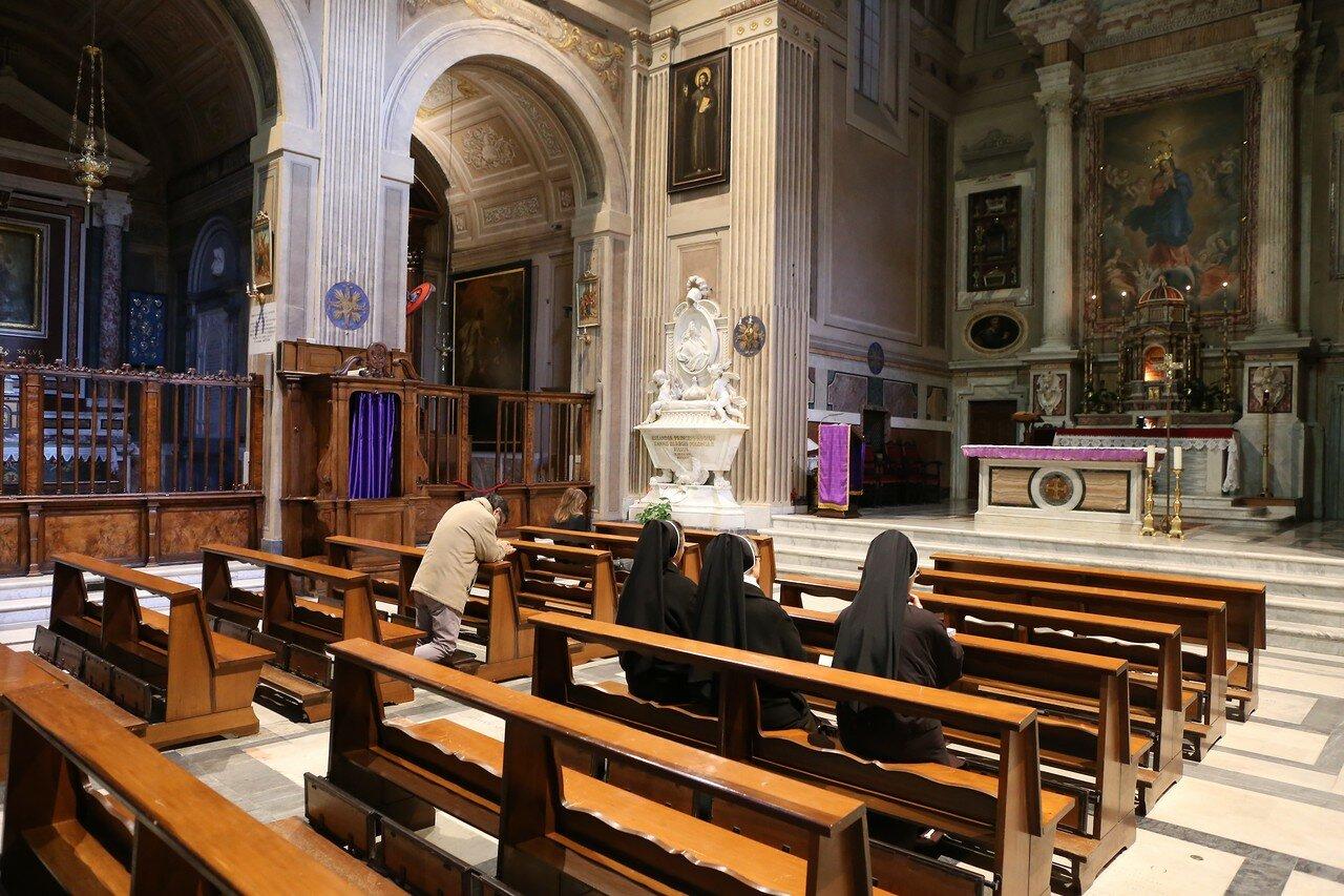 Рим. Церковь Санта-Мария-делла-Кончеционе (Santa Maria della Concezione dei Cappuccini)