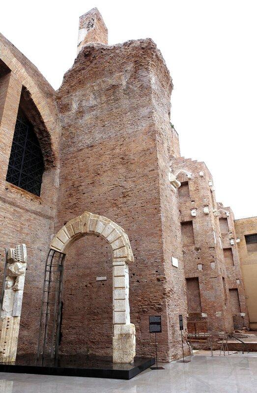 Рим. Термы Диоклетиана
