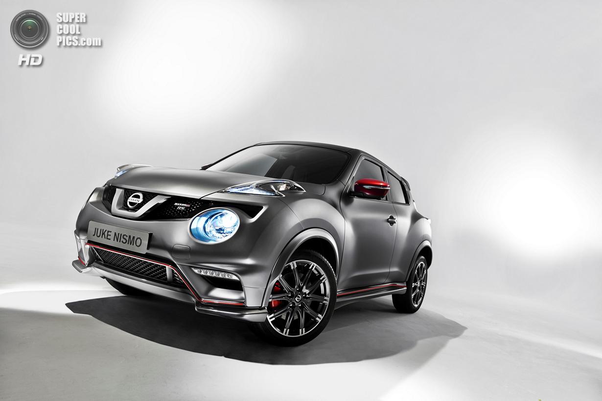 Nissan Juke в версии Nismo RS: Ещё больше «лошадей» (17 фото)