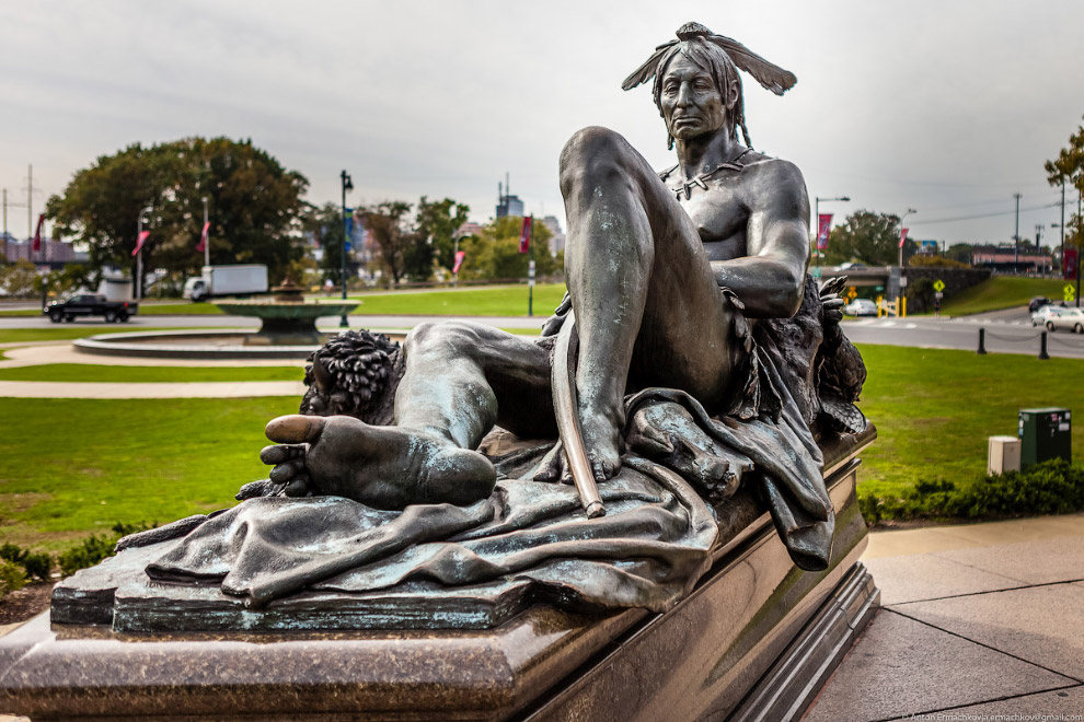 16. Художественный музей Филадельфии — один из крупнейших в США музеев изобразительного искусст