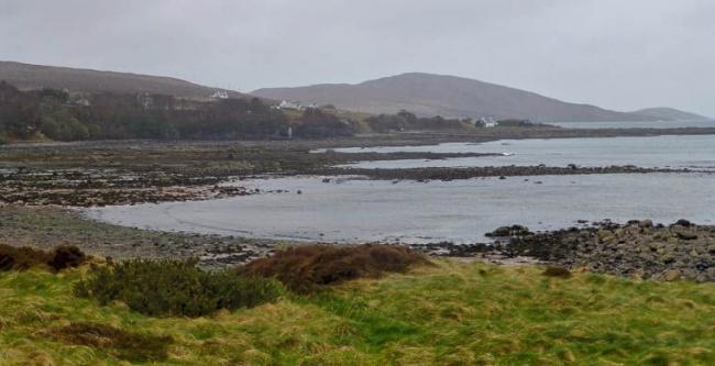 В1942 году британское правительство выкупило шотландский остров Грюинард для проведения испытаний б