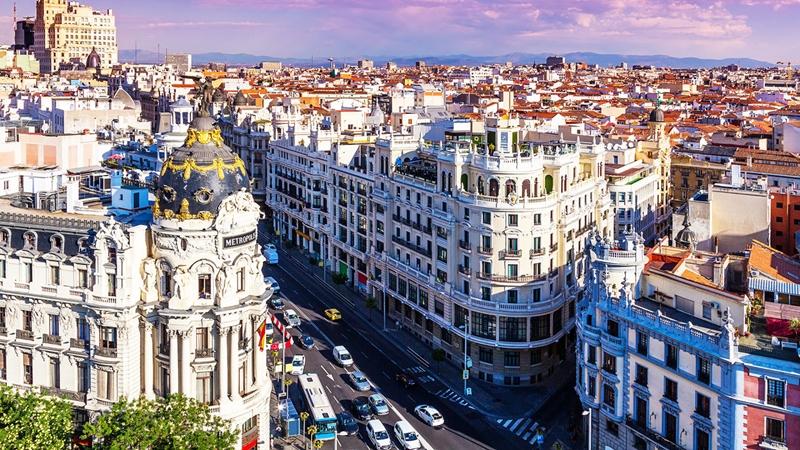 Улицы и архитектура Мадрида фото 1