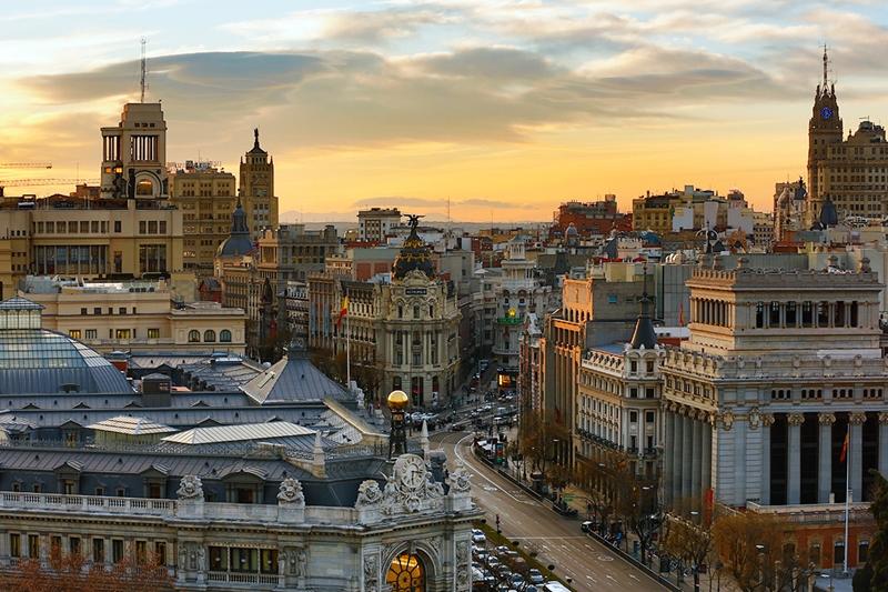 Улицы и архитектура Мадрида фото 7