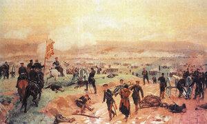 Бой под Плевной 27 августа 1877 года