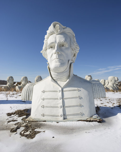 Andrew Jackson. (Photo by David Ogden/Caters News)