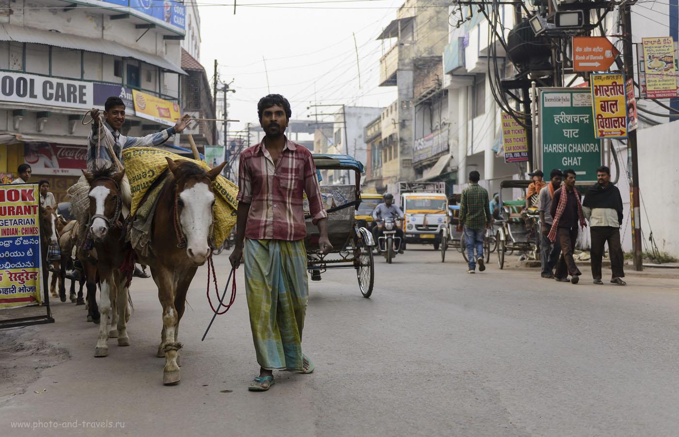 Фото 20. Путешествуя по Индии, вы встретите, чаще всего, доброжелательных, немножко наивных людей. Отчет о прогулке по Варанаси. 1/1000, 2.8, 250, 35.