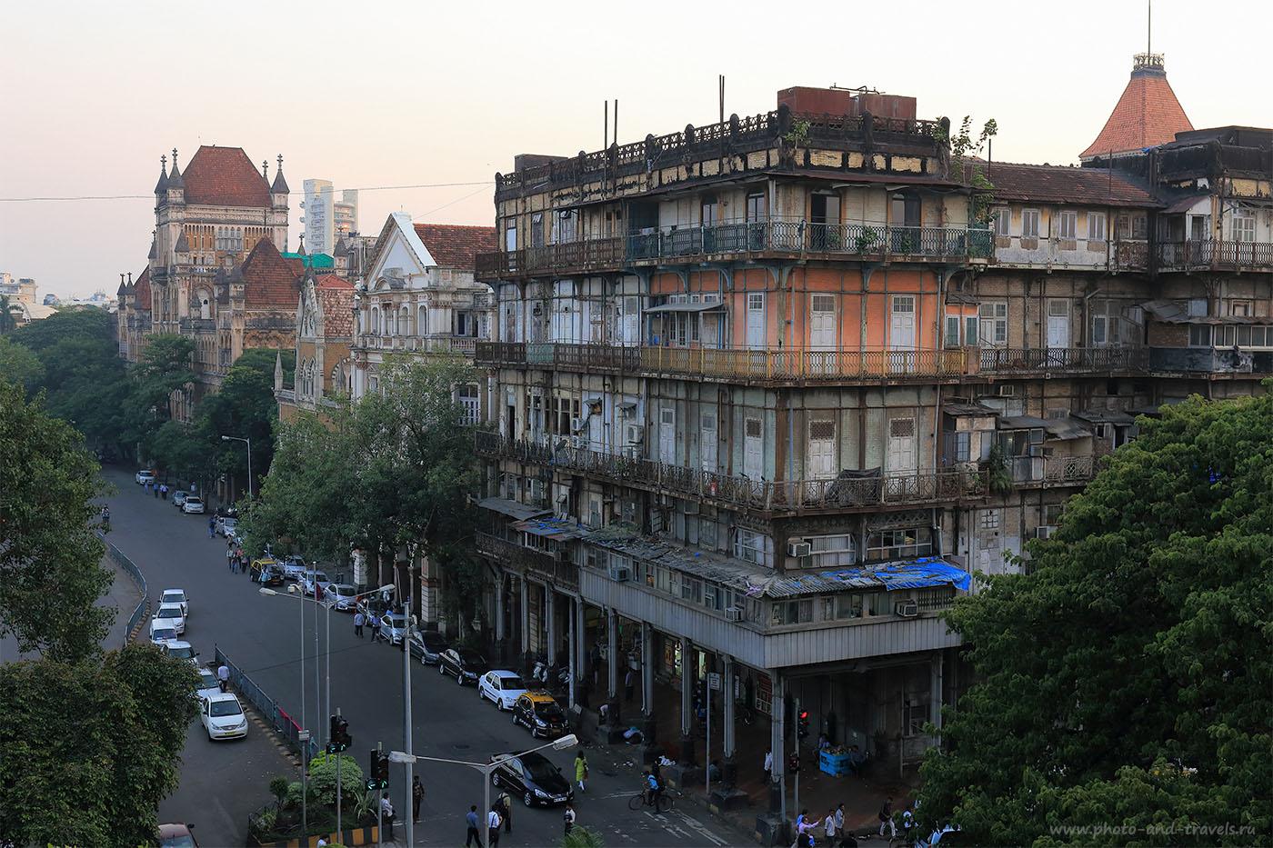Фото 31. Вид на отель Watson's Hotel в Мумбаи. Отчет о поездке в Индию самостоятельно (24-70, 1/100, -1eV, f9, 39 mm, ISO 640)