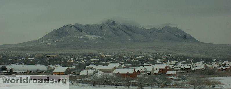 Пятигорск зимой