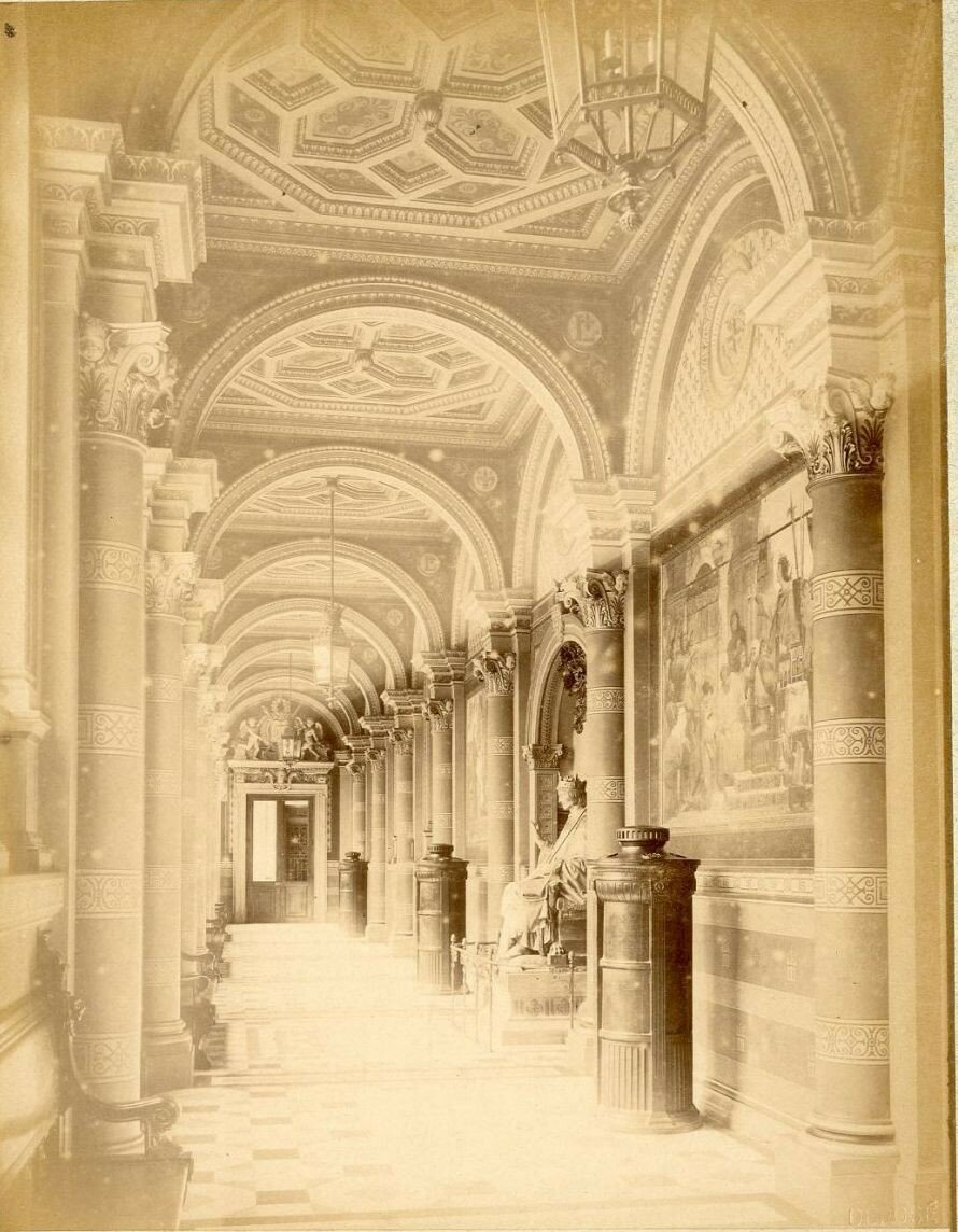 1880-е. Дворец правосудия, Галерея Сен-Луи