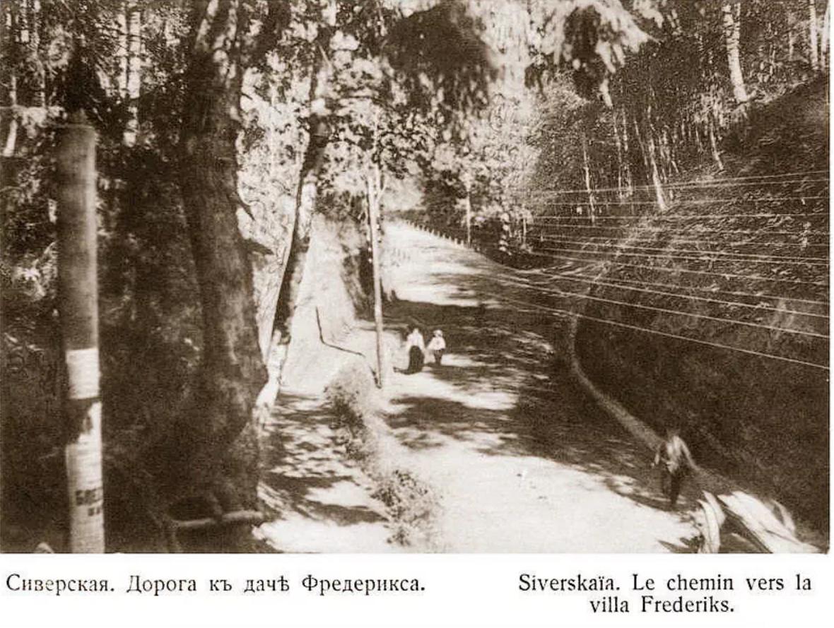 Дорога к даче Фредерикса