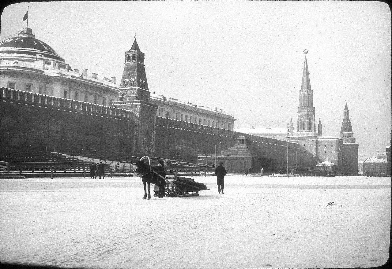 1929. Москва. Кремль и Мавзолей Ленина