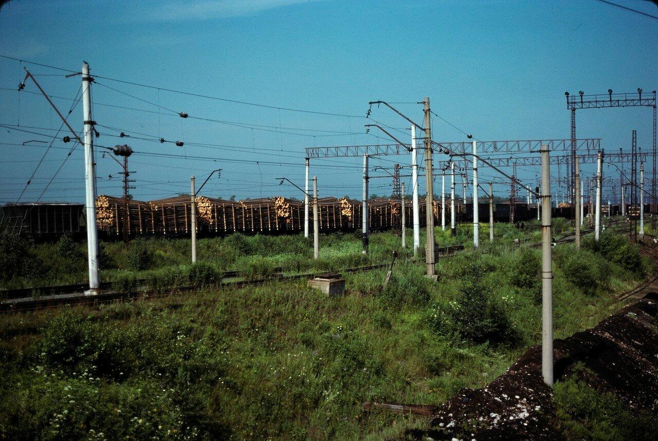 Пермь.Товарная станция