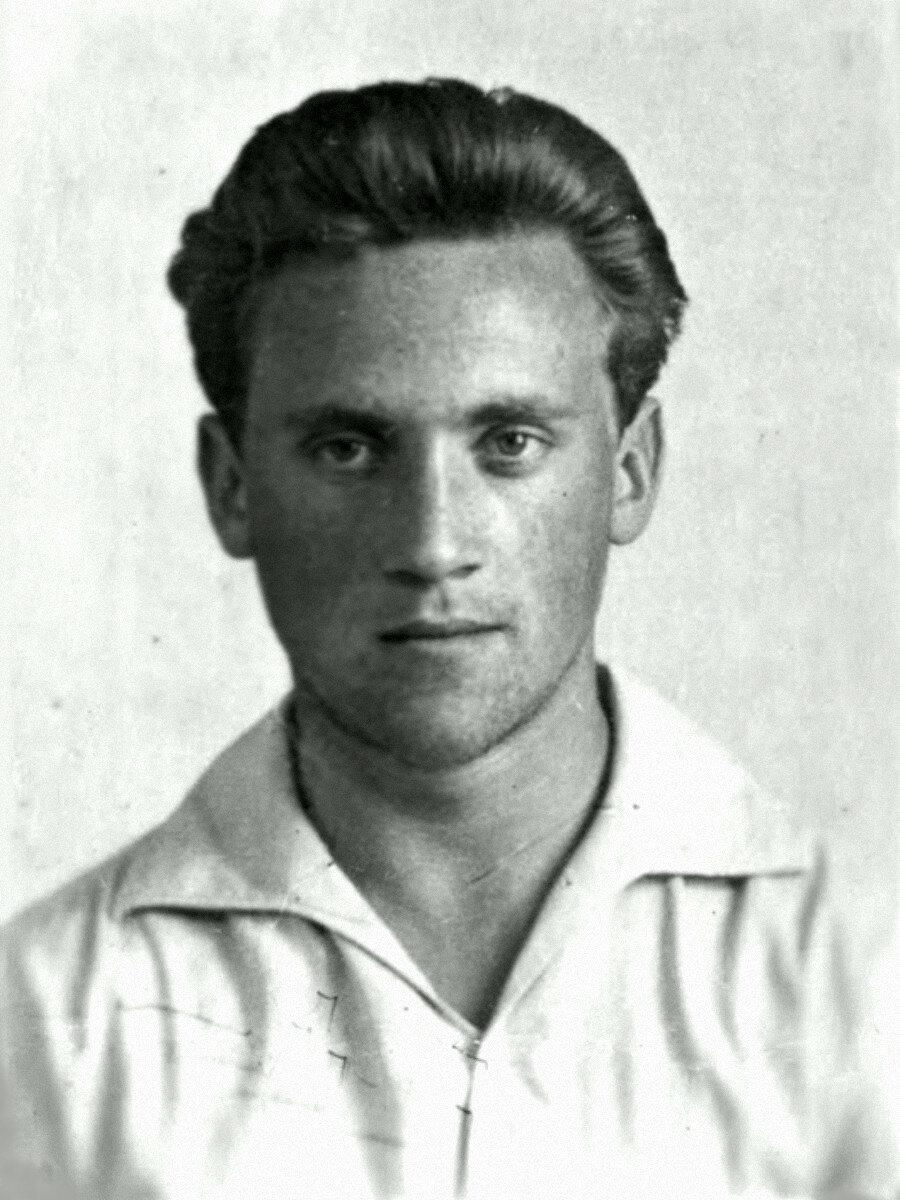 1957. Владимир Высоцкий в г.Москве