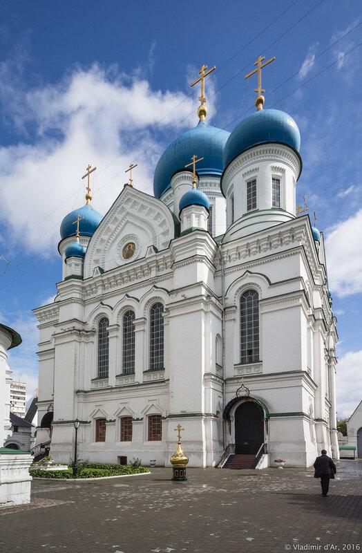 Собор святителя Николая Чудотворца. Перервинский монастырь.