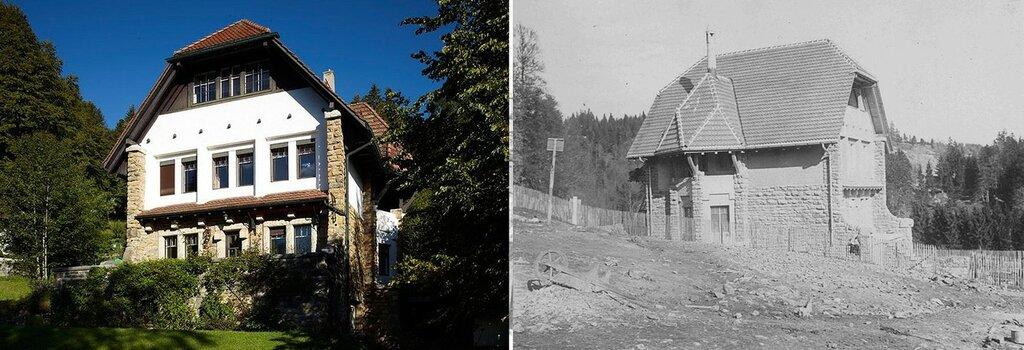 Вилла Jaquemet, Ла Шо-де-Фон (La Chaux-de-Fonds), Швейцария. 1907.jpg