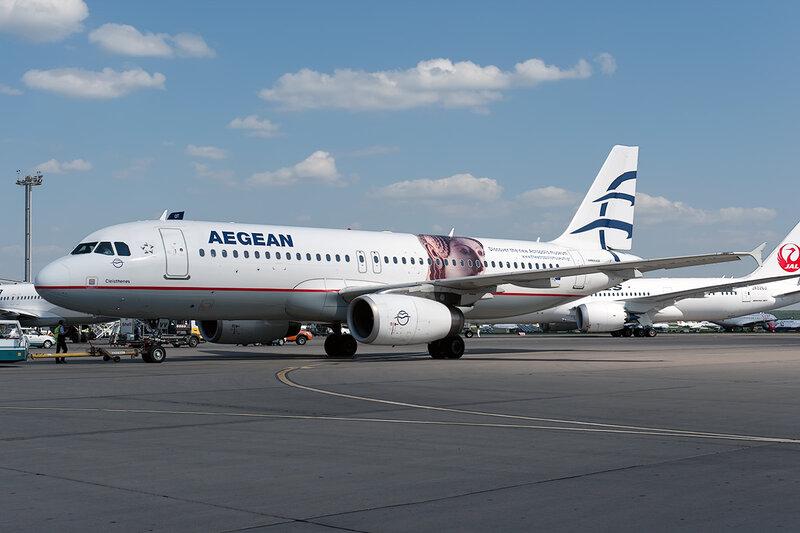 Airbus A320-232 (SX-DVV) Aegean DSC_0026