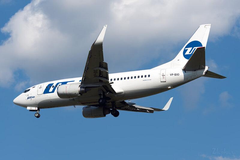 Boeing 737-524 (VP-BXO) ЮТэйр DSC_2719