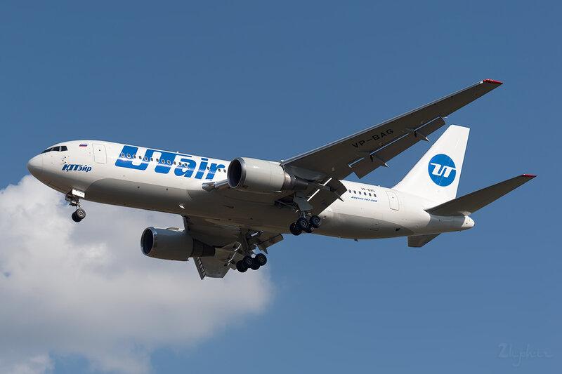 Boeing 767-224/ER (VP-BAG) ЮТэйр DSC_2736