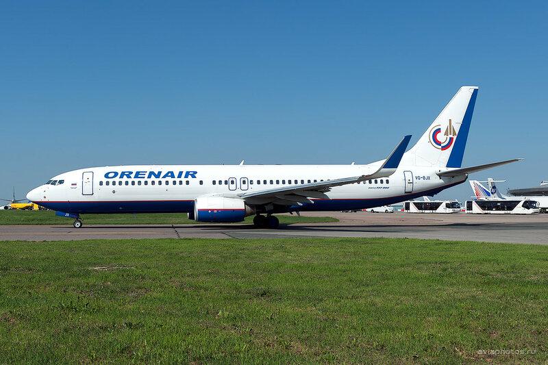 Boeing 737-86N (VQ-BJX) Orenair D701341a
