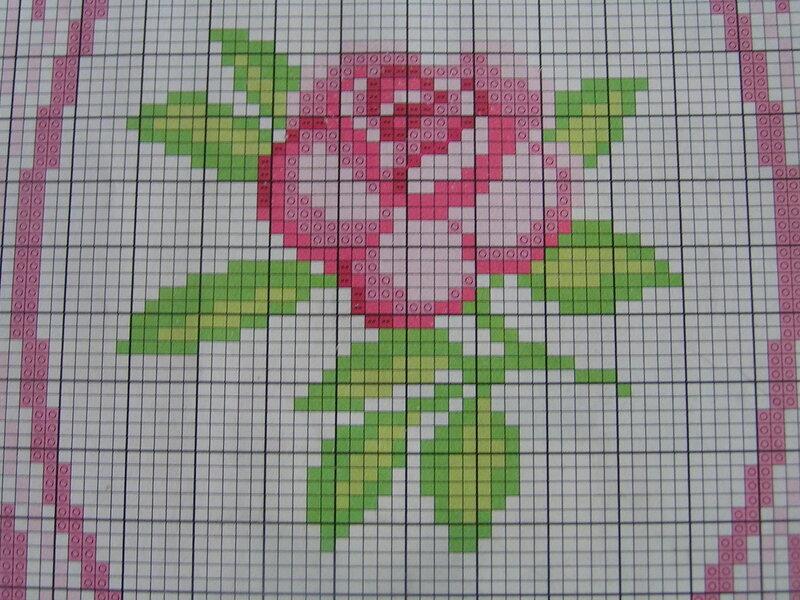 Картина панно рисунок Бисероплетение Вышивка Вышивка бисером РОЗА +схема Бисер Канва Нитки фото 4.