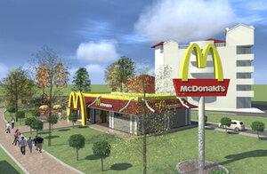 Макдональдс в Бельцах