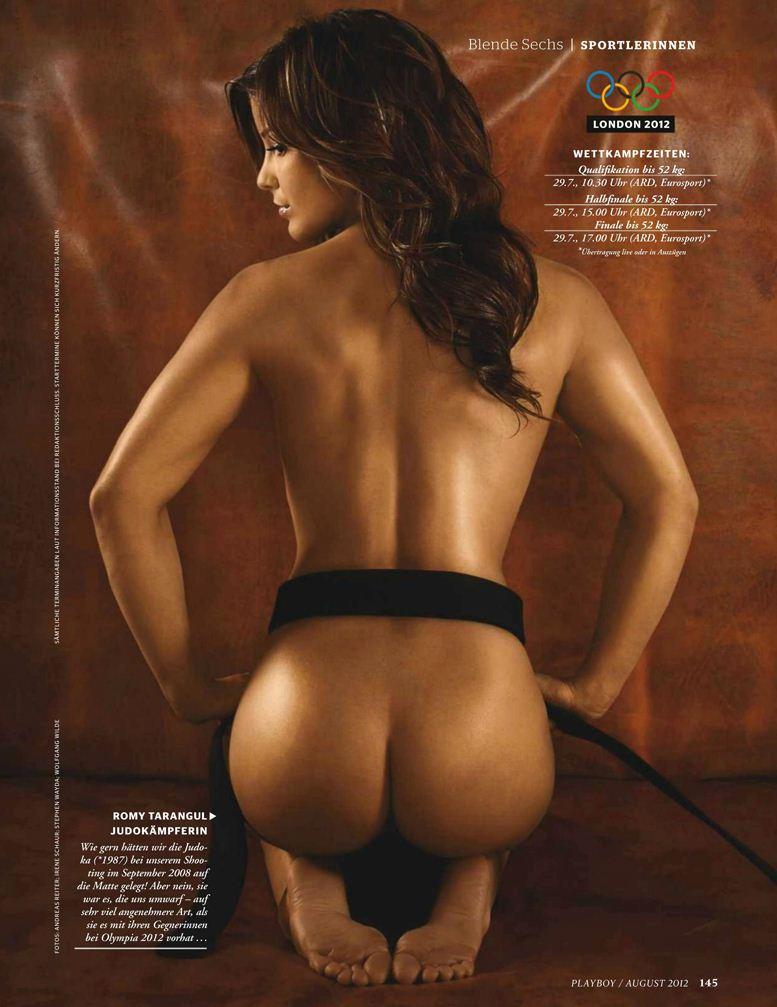 Playboy Germany, август 2012 / Romy Tarangul / Роми Тарангул - дзюдо