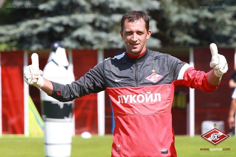 Открытая  тренировка «Спартака» под руководством Эмери (Фото)