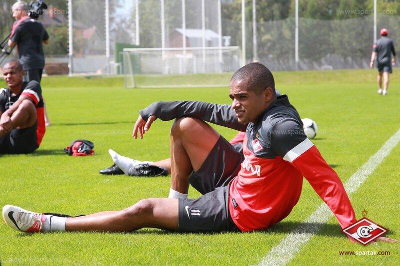 «Спартак» тренировался в новой форме от Nike (Фото)