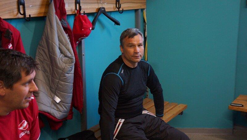 Тренировка ХК «Спартак» на сборе в Словении (Фото)