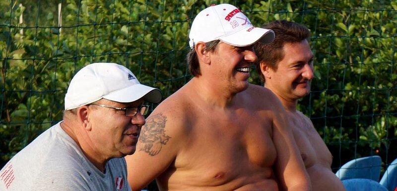 Тренировка хоккеистов «Спартака» на сборе в Мариборе (Фото)