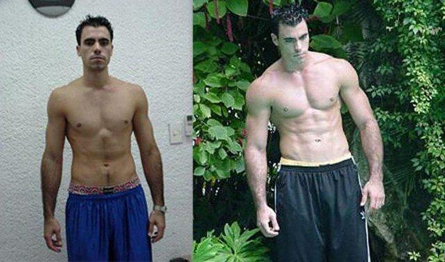 бодибилдинг до и после фото