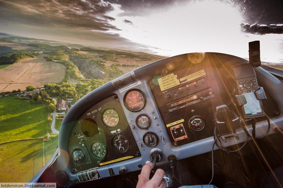 Индивидуальная экскурсия в Чехии - полет на одномоторном самолете