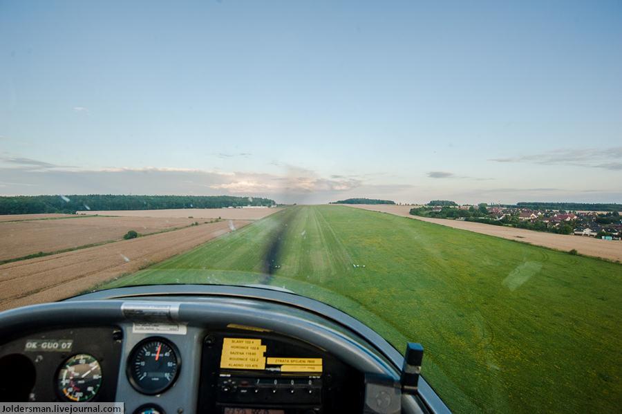 Как управлять самолетом ? - отдых в Чехии