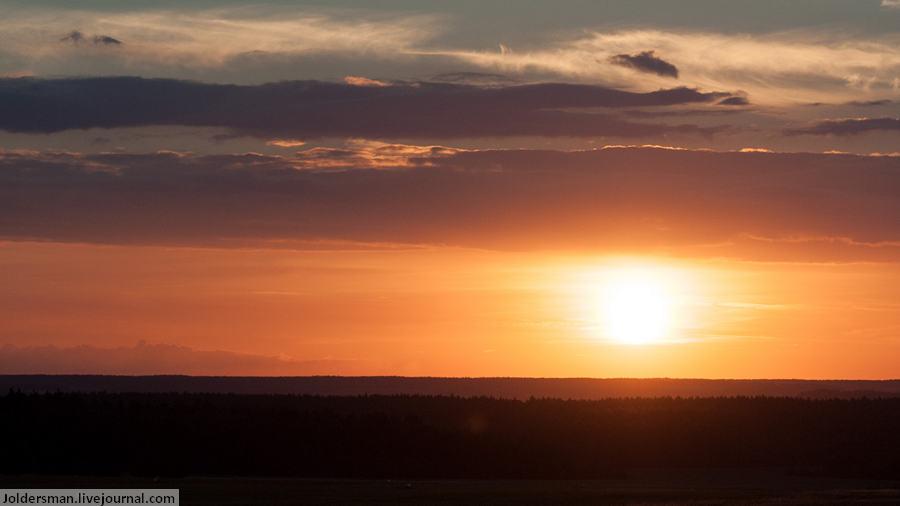 Чехия на закате - фотография Артура Якуцевича