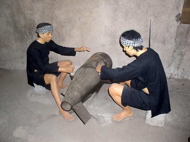 0 7aaf1 51a45bd9 orig Тоннели и ловушки вьетнамских партизан