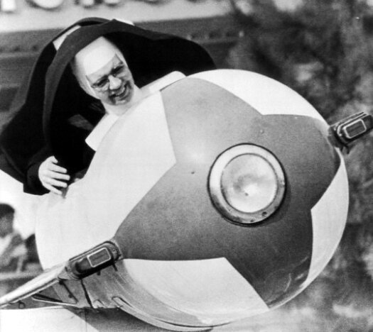 Nuns Ride Tomorrowland Rocket
