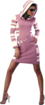 Liza tube lady in pink dress 13-1-2011.png