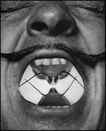 Сальвадор Дали и его усы.