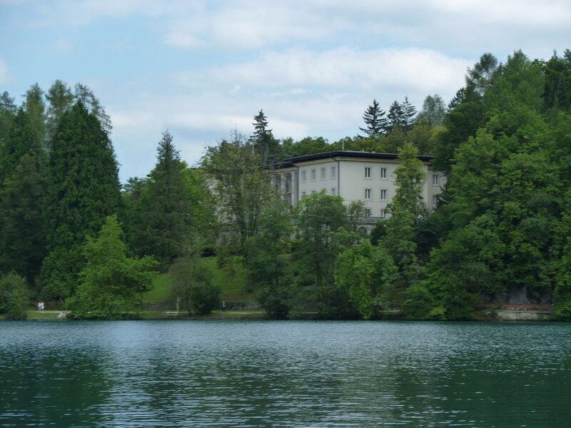 Вилла Блед - бывшая резиденция Тито