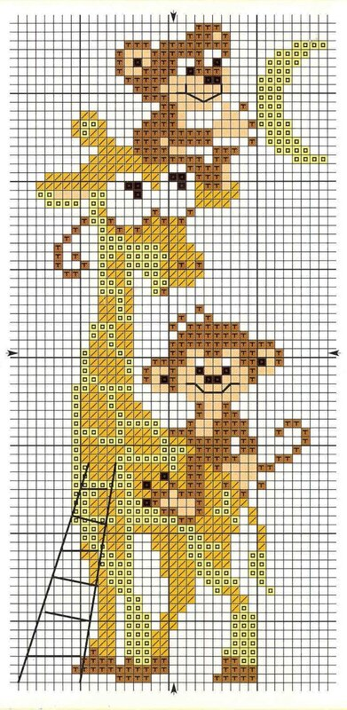 """свой цитатник или сообщество!  Часть 2. Небольшая подборка схем для вышивки с жирафами.   """"Часть 1. Чашки от..."""