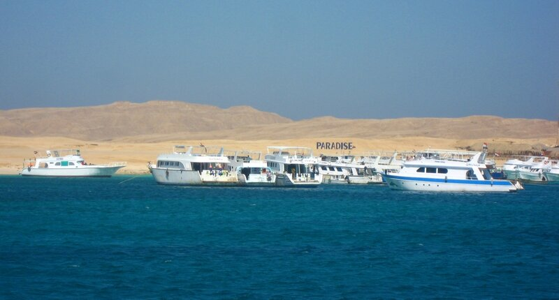 Райский остров Paradise в Хургаде - Египет, Красное море - Экскурсии, Техника, Пустыня, Пляжи, Острова, Море, Животные - hurgada, egypt