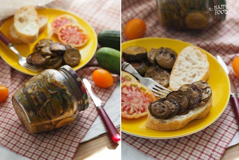 Простой рецепт кабачков с чесноком на зиму