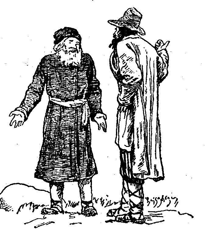 """Два мужика"" - ""The two peasants"", басня Ивана Крылова на английском языке"