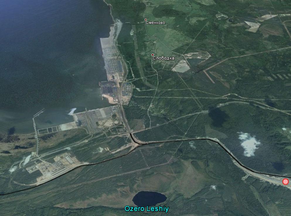 Схема ж/д подходов к порту