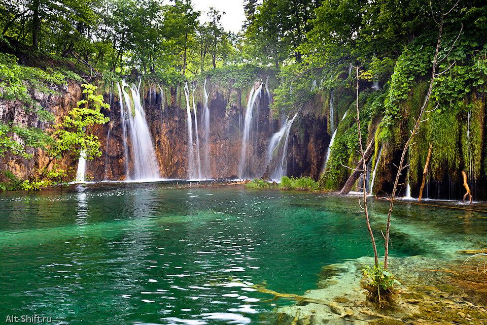 плитвицкие озера.хорватия. фото